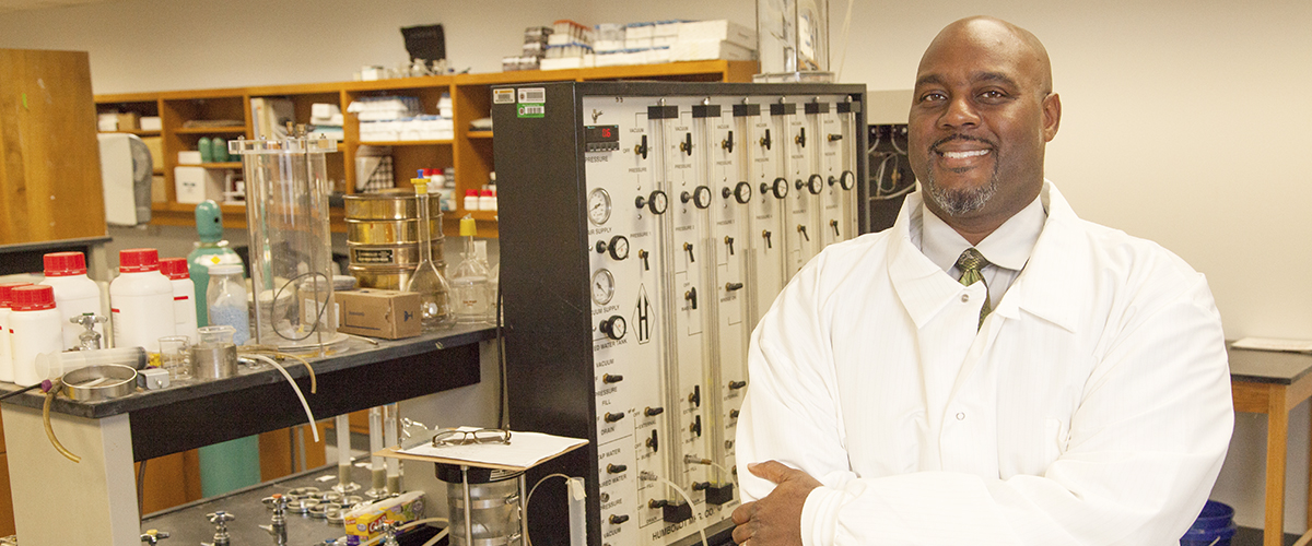 Dr. Clayton Clark, Professor at the FAMU-FSU College of Engineering