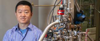 WEI GUO uses superfluid helium to match the Reynolds numbers generated in real turbulent flows, which is important for heat transfer research.